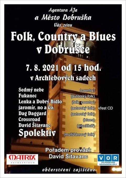 FOLK COUNTRY A BLUES V DOBRUŠCE 1