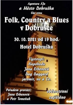 FOLK, COUNTRY A BLUES V DOBRUŠCE 2