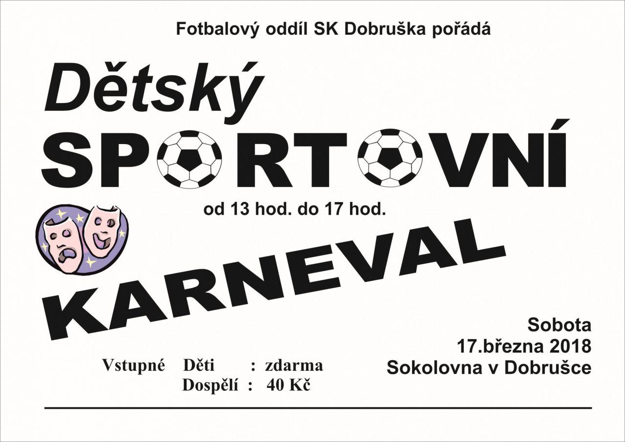 Dětskzý sportovní karneval